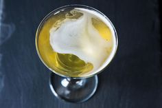[ Recipe: Last Call ] Made with vodka, chilled concentrated jasmine green tea, Domain De Canton ginger liqueur, and lime (twist). ~ from Food52