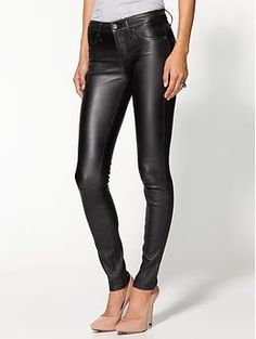 Leather skinnies?  Yes please!  Marc by Marc Jacobs Mirah Leather Pant | Piperlime