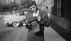 Elvis with an OLD Hasselblad