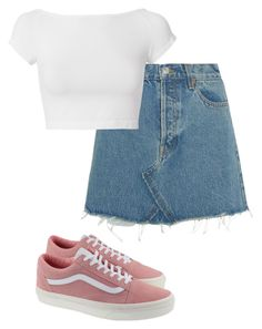 """""""Idk"""" by aliah1202 on Polyvore featuring RE/DONE, Helmut Lang and Vans"""