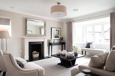 4 bedroom detached house for sale in Orchard Avenue, Gravesend, Kent, - Rightmove. Cream Living Room Decor, Classy Living Room, Cottage Living, Living Room Grey, Home Living Room, Small Lounge, Living Room Inspiration, Cool Rooms, Luxury Living
