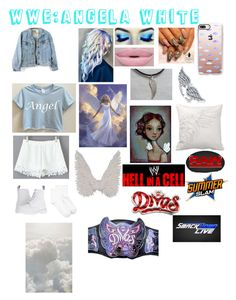 """""""Theme:WWE:Angela White👼🏻By:Anne💁🏽"""" by anneamiejole ❤ liked on Polyvore featuring Dr. Martens, Hue, Morphe, Casetify, BERRICLE and WWE"""