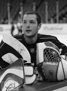 Los Angeles Kings #45 Jonathan Bernier