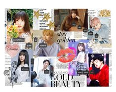 Yuju x Jimin by heavenly369 on Polyvore featuring art