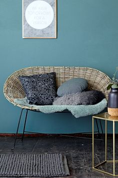Are you interested in our rattan sofa? With our rattan chair you need look no further. Rattan Sofa, Wicker, Terrazzo, Unique Furniture, Home Furniture, Banquette Design, Wholesale Furniture, Interior Inspiration, Home Accessories