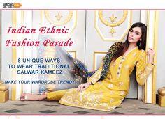 Women Salwar Suit, Salwar Suits Online, Anarkali Suits, Punjabi Suits, Diy Fashion Hacks, Indian Salwar Kameez, Professional Wear, Indian Ethnic Wear, Ethnic Fashion