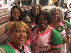 The South Atlantic Regional Director and Members of the Upsilon Omega Omega Chapter of Alpha Kappa Alpha Sorority Incorporated