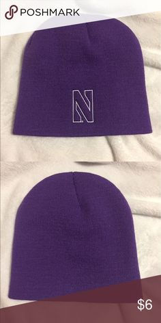 NWOT Purple Northwestern Beanie NWOT Purple Northwestern Beanie. Completely new, never been worn *COMES WITH FREE GIFT🎁!* Accessories Hats