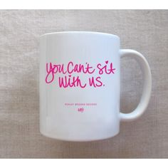 This white ceramic coffee mug deep lavender hand lettering text on both sides microwave safe. Dimensions: 11 oz Fancy Pants Mug by Ashley Brooke Designs. Home & Gifts - Home Decor - Dining North Carolina Mean Girls, Ashley Brooke Designs, My Coffee, Coffee Cups, Tea Cups, Coffee Talk, Morning Coffee, Cute Mugs, Pretty Mugs