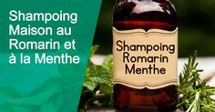 Shampoo can contain harmful chemicals. Instead, try this homemade rosemary mint shampoo recipe! It's easy to make, can help thicken hair and reduce dandruff DIY natural organic Diy Shampoo, Thickening Shampoo, Homemade Shampoo, Homemade Deodorant, Homemade Hair, Homemade Products, Diy Products, Dandruff, Homemade Beauty