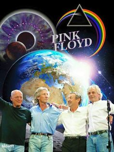 Love Pink Floyd!!!!! Pink Floyd Concert, Pink Floyd Music, Atom Heart Mother, Breathe In The Air, Richard Wright, Pink Floyd Dark Side, Roger Waters, David Gilmour, Great Bands