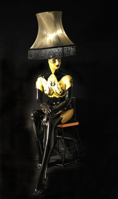Magestic Mannequin Lamps. Home of exclusive handmade life-size mannequins in art. We love to transform mannequins into art lights. www.etsy.com/shop/MAGESTICmannequin