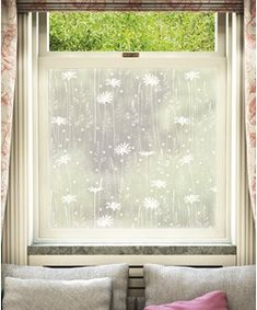 "We're proud to present ""Daisy Meadow"" from our exclusive Hannah Nunn collection. Once applied to the glass, your window film will provide a stylish privacy solution; the frosted film providing two-way privacy without sacrificing natural light. Hd Wallpaper Iphone, More Wallpaper, Nature Wallpaper, Windows Image, Frosted Window Film, Window Films, Most Beautiful Wallpaper, Great Backgrounds, Light Crafts"