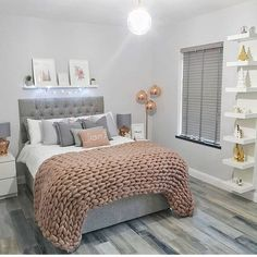 The Best in Teen Bedroom Design and Decor! – Kids Decorating Ideas The Best in Teen Bedroom Design and Decor! The Best in Teen Bedroom Design and Decor! Room Makeover, Stylish Bedroom, Apartment Decor, Stylish Bedroom Design, Room Decor Bedroom, Small Bedroom, Bedroom Decor, Simple Bedroom, Girl Bedroom Decor