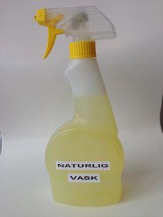 Oppskrift på naturlig universalvaskemiddel! JIF kan legge seg!
