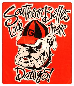 Southern Belles love their Dawgs!
