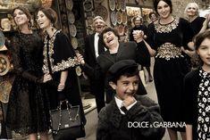 Dolce & Gabbana advertisement with Monica Bellucci and Bianca Brandolini D'Adda. #Advertisement