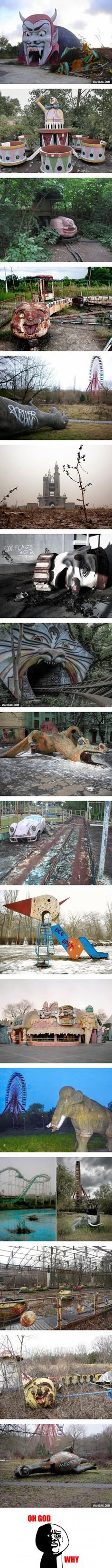 Abandoned Amusement Parks That Look Like Your Childhood Nightmare