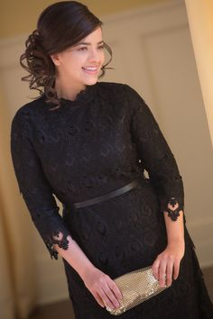 "Such a gorgeous, classy dress! ""Classic in Black"" Dress by Dainty Jewell's Modest Apparel"