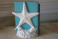 Cast Iron Starfish Door Stop or Book End - Nautical Decor - Beach Decor