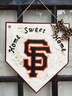San Francisco Giants home plate sign San Francisco by WandNDesigns                                                                                                                                                                                 More