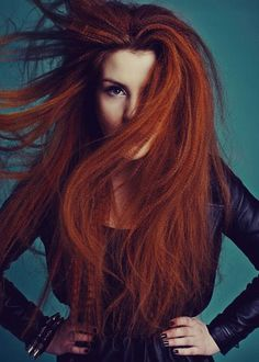 "Crimped hair ""Crimp"" Sandra Gorska"