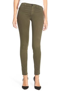 J Brand Ankle Super Skinny Jeans (Camo) available at #Nordstrom