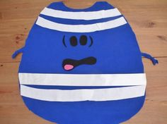how to make a no sew mr bump costume