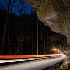 """ Josh Lowe (@the_lowe_life) Zack Staten (@zstaten.photo) and I have met up on three occasions over the last few months with the same goal in mind each time - capturing unique night photos. Last fall Zack and I worked together to get a light trail shot along Highway 715 in Red River Gorge and we had been brainstorming about new angles ever since. Nada Tunnel is a place that stirs everyone's imagination and we independently came up with the exact same plan to shoot there. On Monday night the…"