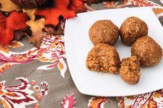 Pumpkin amazeballs a gluten-free, high-protein snack, perfect for the fall season
