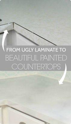 Painted My Countertops With Rustoleum Countertop Coating