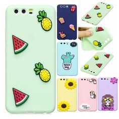 For Fundas Huawei P10 Case 5.1 inch Sunflower Cute Kawaii Rubber Soft Back Cover For Coque Huawei P 10 Silicone Phone Cases Capa
