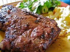 freeze ahead - tangy marinated steaks