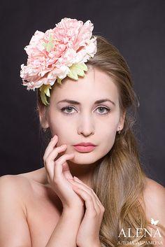 Fabric Flowers, Alena Abramova by alenaflower.com, via Flickr