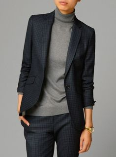 We warm beautifully: a selection of images in the office style for cold autumn - Outfits for Work - Business Outfits for Work Mode Outfits, Office Outfits, Chic Outfits, Fall Outfits, Office Wear, Sweater Outfits, Office Dress Code, Fashionable Outfits, Office Attire