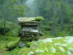 """voiceofnature: """" In the early 1800s a man named Little Jon lived in this so called earth cabin (swe. 'backstuga') located in southern Småland, Sweden. An earthen cabin is built partially buried in..."""