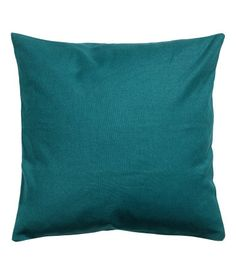 Cushion cover in cotton canvas with concealed zip. Size 16 x 16 in.