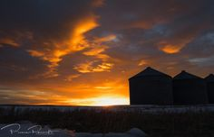 March 12, 2017:  Prairie sunrise, Alberta