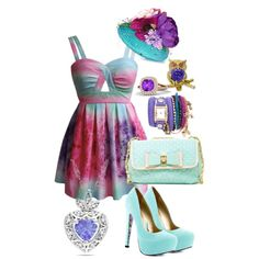 """Ever after high Madeline Hatter"" by pineapplepizzaplanet on Polyvore"
