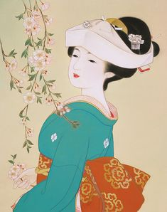 Chinese Ladies Meticulously Dressed in Traditional Clothing. China is a large multinational state. It is composed of 56 ethnic groups Posted by Sifu Derek Frearson Japanese Art Modern, Japanese Artwork, Japanese Painting, Japanese Prints, Chinese Painting, Chinese Art, Japanese Geisha, Japanese Girl, Illustrations