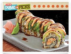 Idea for me: deconstructed San Antonio roll: rice, shrimp instead of imitation crab, avocado, spicy mayo and sushi sauce (see eel sauce)