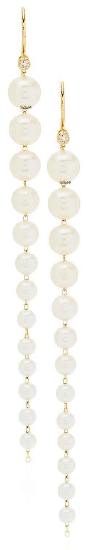 ❈Téa Tosh❈ #Mizuki Graduated Pearl Earrings #teatosh