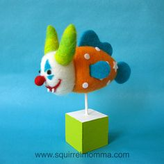 Scary Clown Fish by squirrel momma, via Flickr