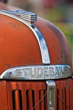 1940's Studebaker Truck Hood Ornament by Jill Reger