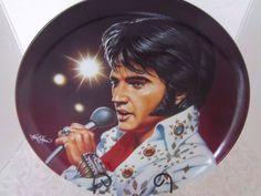 Collectors Plate Elvis Presley