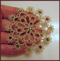 free-standing tatting designs