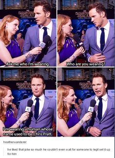 Chris Pratt, Ladies and Gentlemen