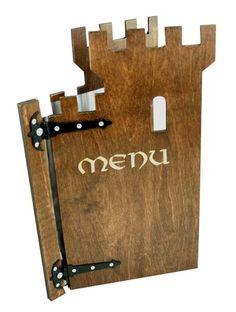 Tower Holz Menu A4 Bathroom Hooks, Menu, Tower, A4, Ideas, Menu Cards, Timber Wood, Menu Board Design, Lathe