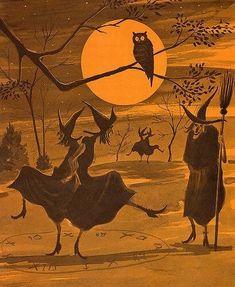 Halloween Kunst, Image Halloween, Halloween Tags, Retro Halloween, Theme Halloween, Halloween Pictures, Holidays Halloween, Halloween Crafts, Happy Halloween