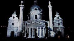 3D video mapping @ St. Charles Church, Vienna, Ultrabook 3D Tour by Markos Aristides Kern. http://vimeo.com/51458939